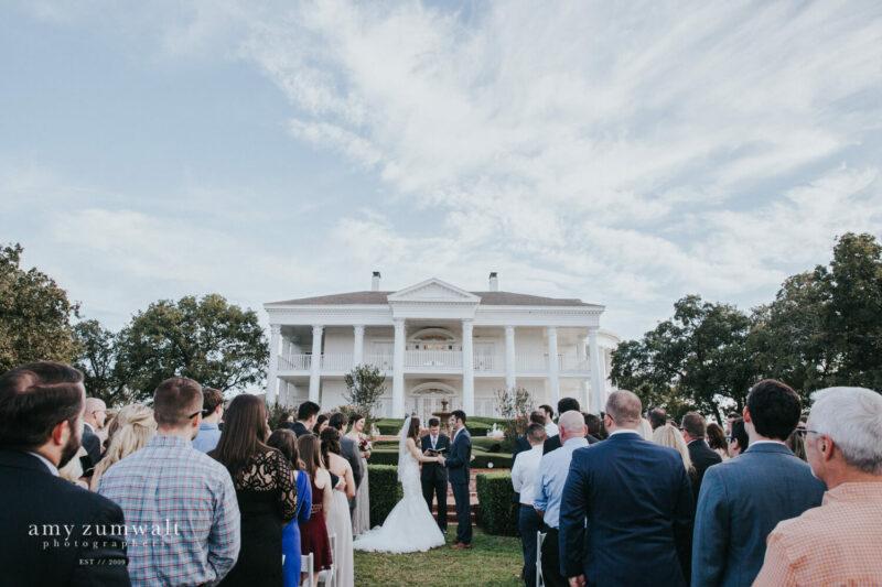Burleson Mansion Wedding