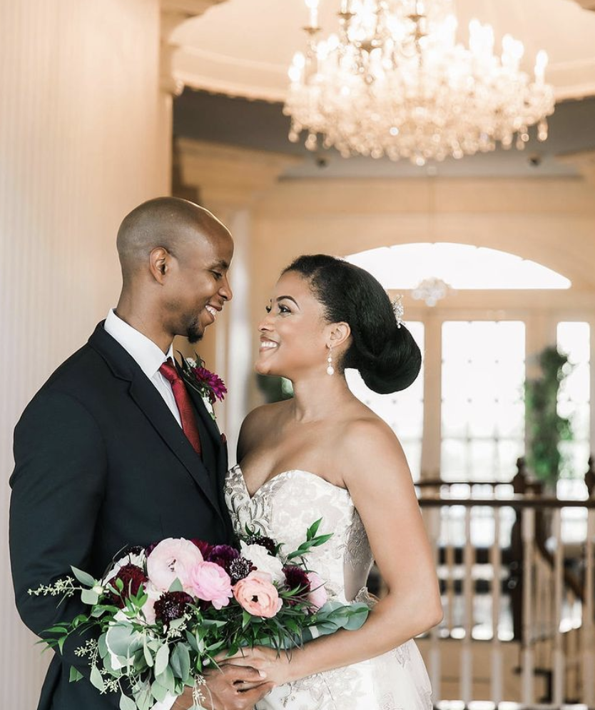 Intimate Wedding in a Mansion